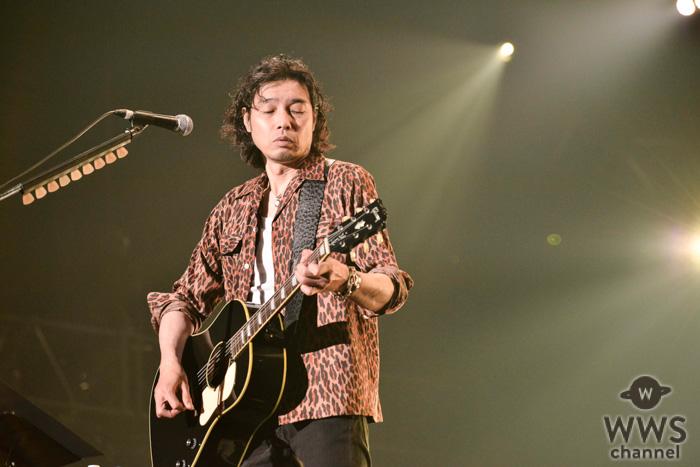 【ライブレポート】斉藤和義、アコギ一本で奏でる『やさしくなりたい』を熱唱!<ビクターロック祭り2019>