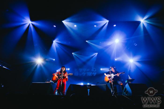 【ライブレポート】LOVE PSYCHEDELICO(Premium Acoustic Set)、2人の奏でるアコースティック・ライブで観客を魅了!<ビクターロック祭り2019>