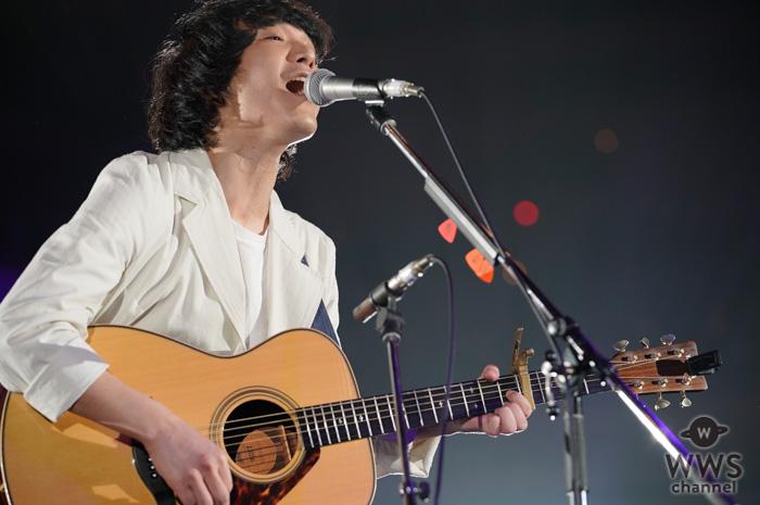 【ライブレポート】石崎ひゅーい、J-WAVE ・トーキョーギタージャンボリーで『さよならエレジー』を披露!<30th J-WAVE TOKYO GUITAR JAMBOREE>