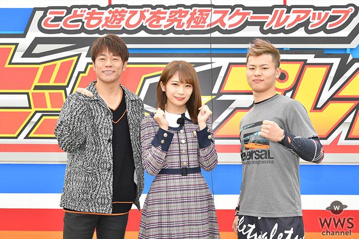 秋元真夏(乃木坂46)も急遽挑戦!新競技「スーパースカイシュー」誕生