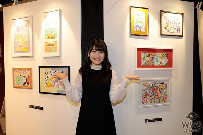 HKT48・小田彩加 東京・AKB48劇場にて個展第2弾を開催!!