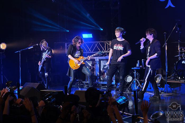 ACE OF SPADES初の全国ツアー最終公演にGLAYのTERUとTAKUROがサプライズ出演! 豪華競演に約2000人が大興奮!