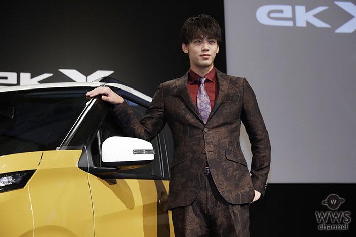 竹内涼真、自動車CMに初出演!Web にて先行公開!!