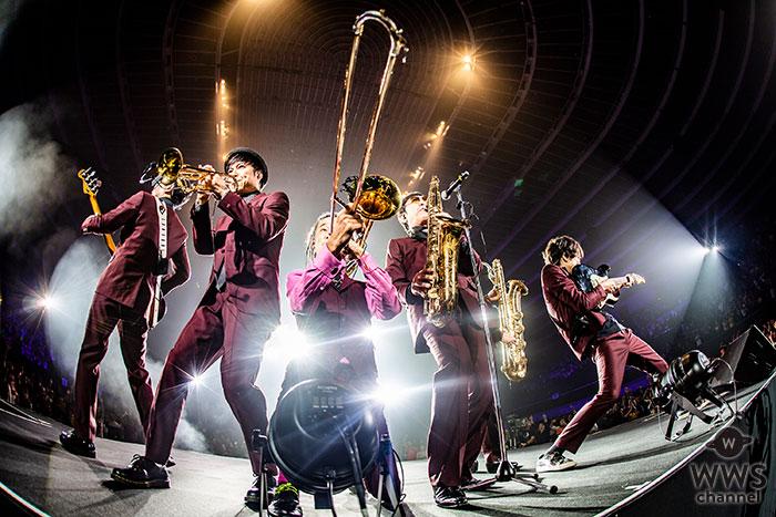 """スカパラ、3/13発売の『2018 Tour「SKANKING JAPAN」"""" スカフェス in 城ホール"""" 2018.12.24』よりダイジェスト映像を公開!"""
