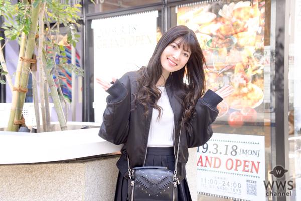 女優・日下部美愛がグルメタワー『GEMS(ジェムズ)田町』 を食レポ!