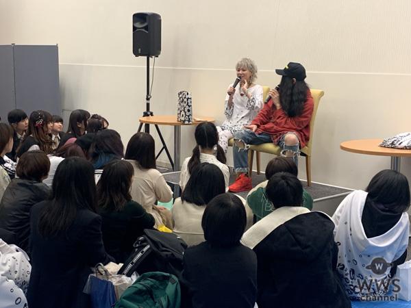 百花(元NMB48木下百花)が『百花を囲み取材!』と題した座談会形式のトークイベント開催!