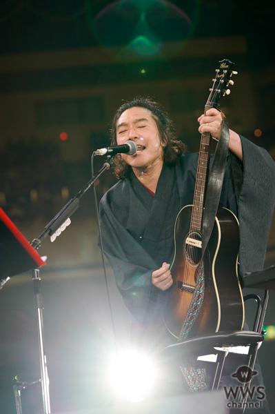 【ライブレポート】トータス松本、ギタージャンボリーで『バンザイ 〜好きでよかった〜』をアカペラで披露!<30th J-WAVE TOKYO GUITAR JAMBOREE>