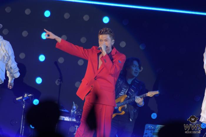 EXILE SHOKICHI、紅の衣装でTGMのヘッドランナーに登場!<東京ガールズミュージックフェス2019>