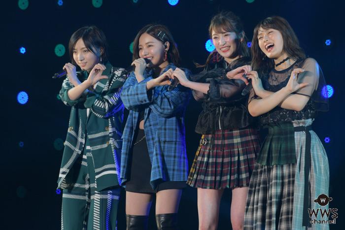QueentetがTGMでガールズパワー全開のステージ!<東京ガールズミュージックフェス2019>