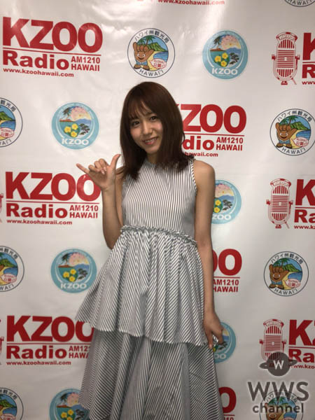 SKE48・大場美奈、ハワイのラジオ番組生出演でファースト写真集の発売を発表!