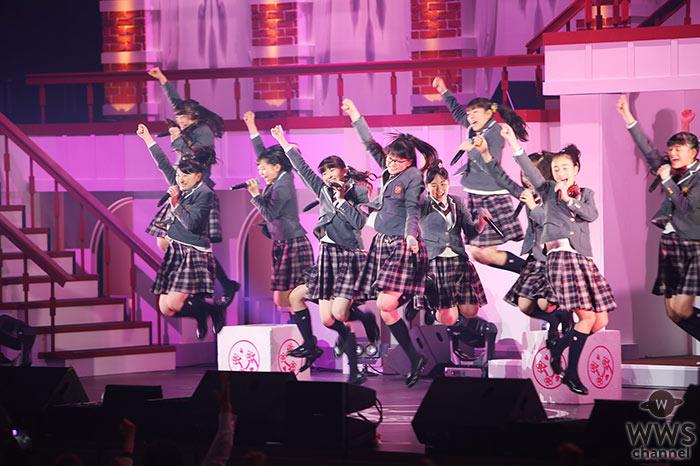 さくら学院・麻生真彩、新谷ゆづみ、日髙麻鈴が卒業!ファイナル公演で2200人のオーディエンスを魅了!