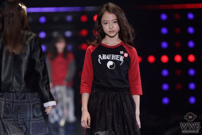 インスタフォロワー250万人オーバー!! 美しすぎる10歳、ELLA GROSS(エルラ・グロス)が半年ぶりにTGCに出演! 堂々のランウェイ姿で来場のオーディエンスを魅了!