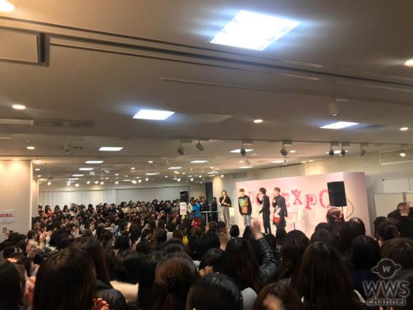 超特急 、「LUCUA大阪4周年×KOBE COLLECTION」スペシャルトークショーに登場!!