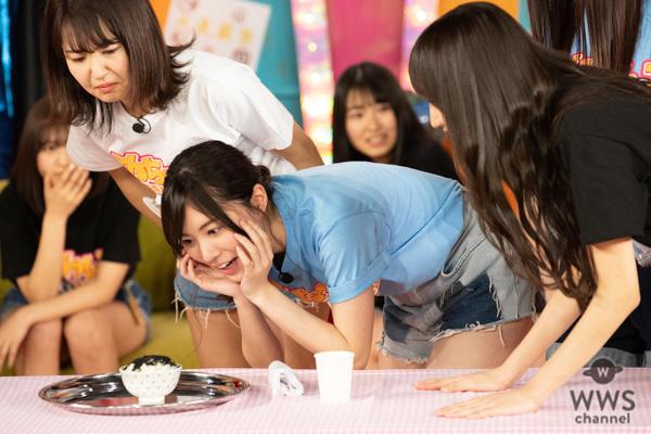SKE48・野島樺乃、初のアリご飯に狂乱!感情を爆発させたリアクションでスタジオを席巻!!<めちゃんこSKEEEEEEEEEE!!>