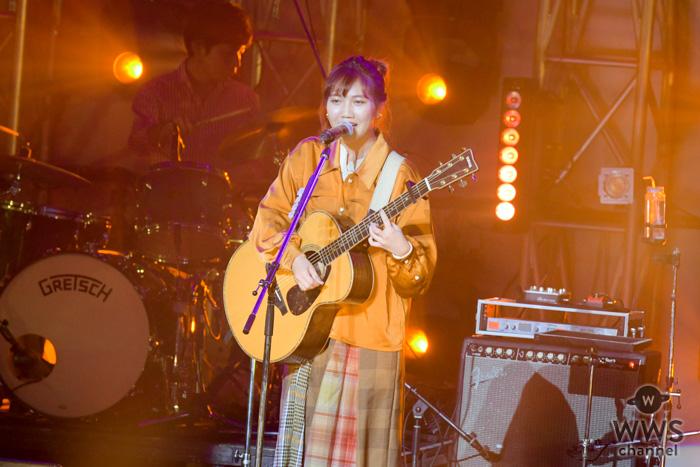 井上苑子、「#卒おめ!」のステージで『線香花火』を熱唱!<#卒おめ!2019>
