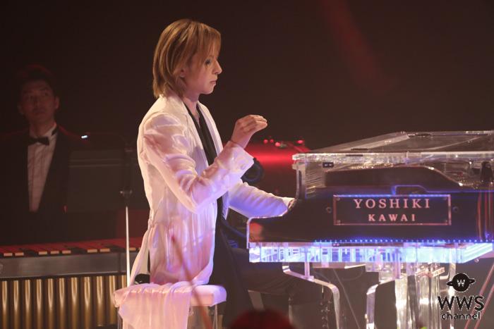 YOSHIKI、天皇陛下への奉祝曲「Anniversary」をTV初披露!「平成から令和へ、想いを込めて演奏しました」