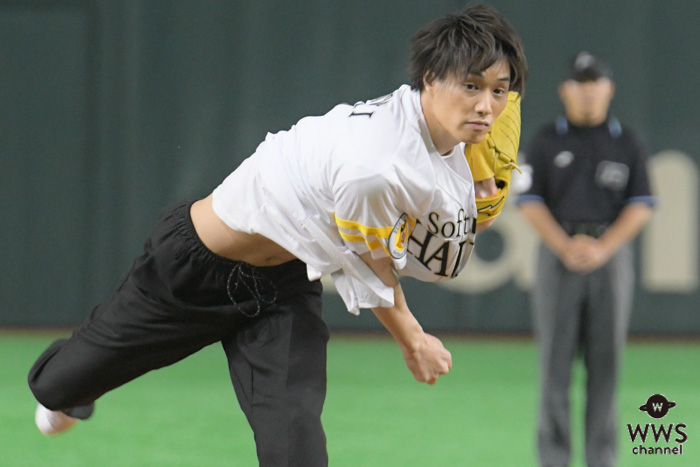 劇団EXILE 鈴木伸之が「タカガールデー」で人生初の始球式に登場!