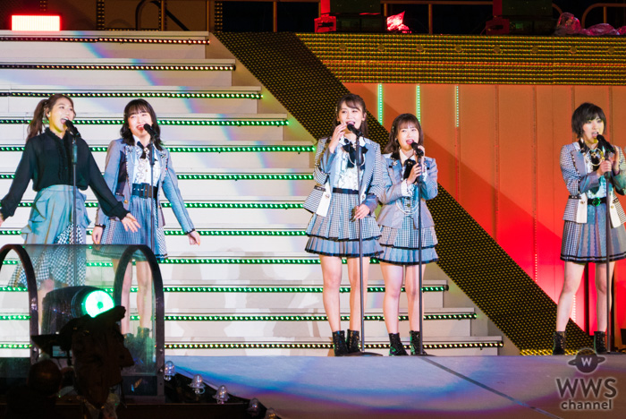 【ライブレポート】AKB48・小嶋真子の卒業セレモニーで「てんとうむChu!」再集結!卒業生・西野未姫と『清純タイアド』を披露!!<AKB48グループ春のLIVEフェス>