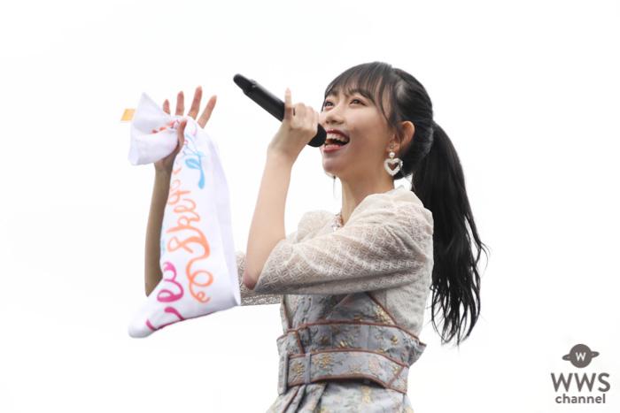 【ライブレポート】SKE48・野島樺乃、横浜スタジアムのソロステージに「本当に幸せです」!『だって、雨じゃない』をカラフル傘で爽やかに歌い上げる!<AKB48グループ春のLIVEフェス>
