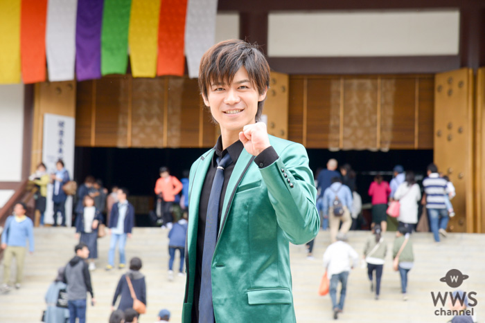 新浜レオンが令和元年デビューに向けて成田山新勝寺でご祈祷&歌唱イベント開催!