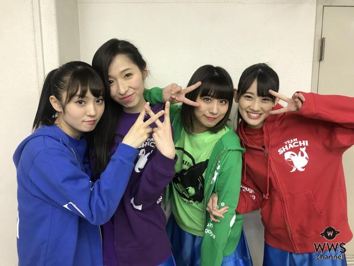 TEAM SHACHI(シャチ)、改名後初のホールツアー開幕!初日の豊橋公演オフショット掲載!!