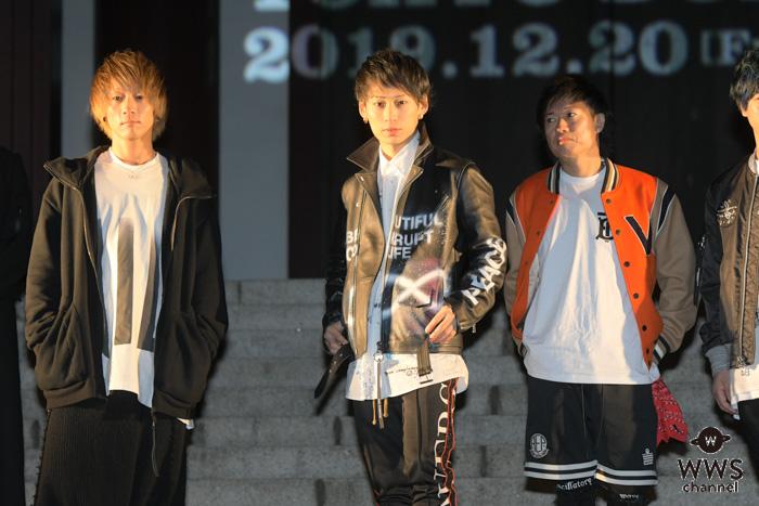 UVERworld、史上初の男祭りを東京ドームで12月に開催発表!増上寺にて成功祈願!!