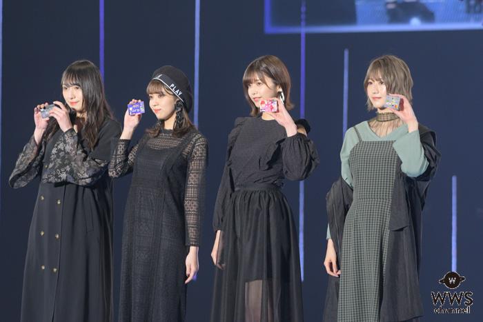 欅坂46が語る、『もし欅坂46でなかったら』イオンカードステージに登場!<TGC 2019 S/S>