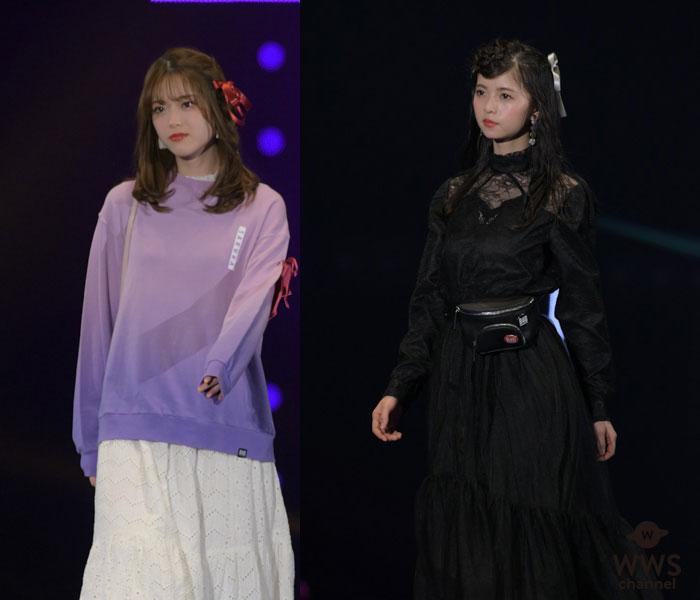 乃木坂46、松村沙友理、齋藤飛鳥らが可憐なファッションでランウェイに登場!<TGC 2019 S/S>