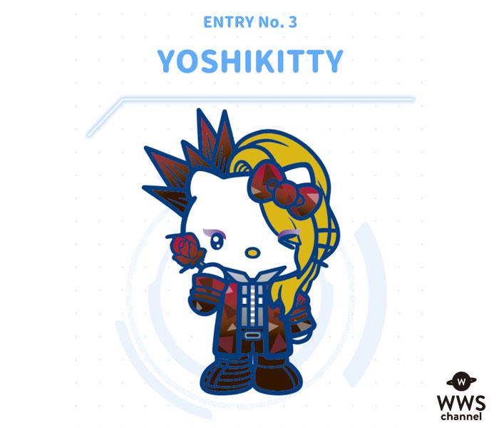 「YOSHIKITTY」が今年も参戦決定!『サンリオキャラクター大賞』が投票開始!10周年、悲願の優勝を目指す!!
