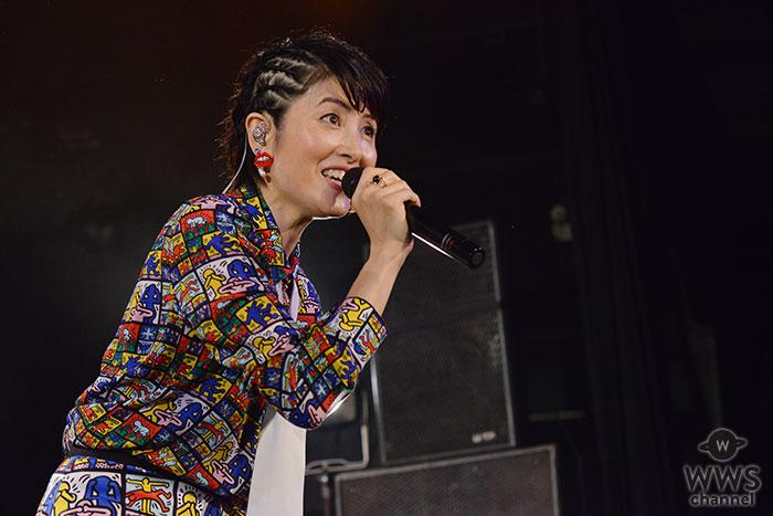 荻野目洋子、デビュー35周年記念ライブで、初のオールスタンディング!初披露の新曲を含む20曲の熱唱にファン大興奮!!