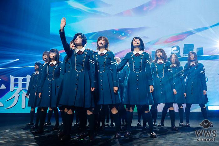 欅坂46、初の大阪開催&初のライブビューイングでデビュー3周年!