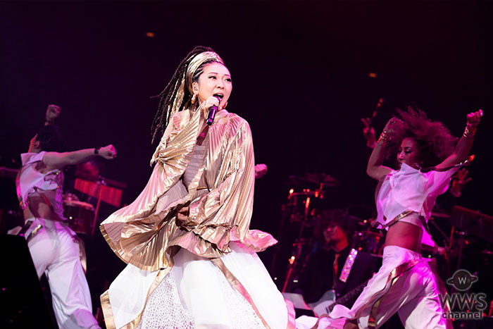 MISIA、日本人歌手として平成最後の武道館公演を開催!