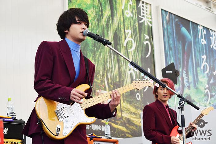 オリコンアルバムデイリーチャート1位を獲得したDISH//、リリースイベントで大歓声の中新曲披露!