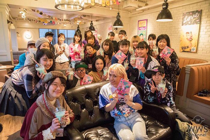 RYUCHELL、デビューアルバム「SUPER CANDY BOY」 ファンとのリリースパーティーで感激の涙 !ウェンディーズ・ファーストキッチン原宿竹下通り店でアートワーク展初日に開催!