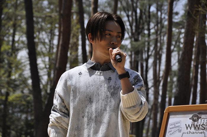 EXILE TETSUYAが『信州花フェスタ2019』に出店される「AMAZING COFFEE」の内覧会に参加!