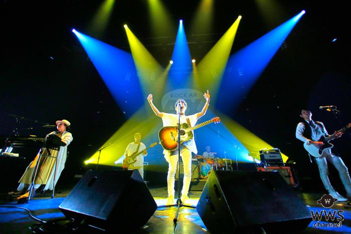 【ライブレポート】HYが『ROCK AX Vol.2(ロックアックス)』初日のトリを飾る!エネルギー全開のパフォーマンスで魅了!!<ROCK AX Vol.2>