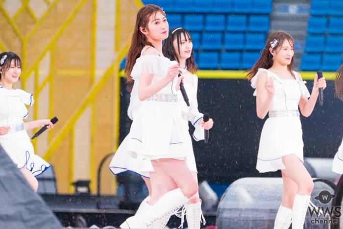 【ライブレポート】NMB48が雨降るステージでノンストップ熱唱!『床の間正座娘』他9曲を披露!<AKB48グループ春のLIVEフェス>
