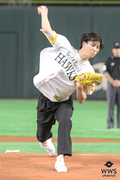 劇団EXILE 鈴木伸之が「タカガールデー」で人生初の始球式に挑戦!