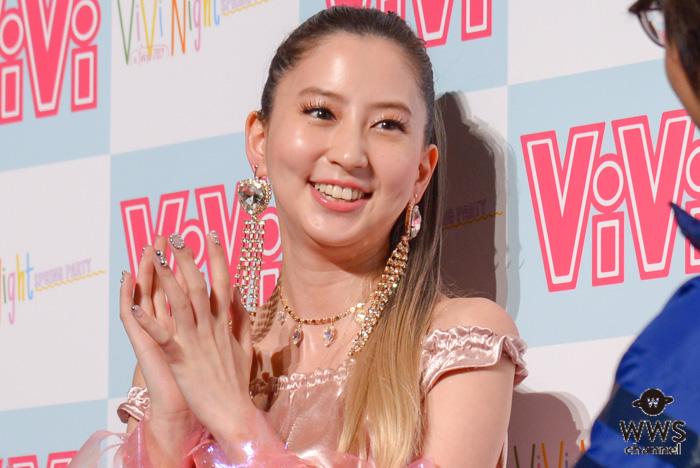 ViViから卒業の河北麻友子、藤田ニコルら「ViVi Night in TOKYO2019」目前の会見に登場!