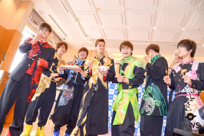 """BOYS AND MEN(ボイメン)、写真集会見中に新たな""""名古屋めし""""が誕生!?"""
