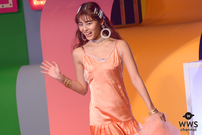 古畑星夏がViVi Nightのオープニングステージでランウェイに登場!<ViVi Night in TOKYO2019>