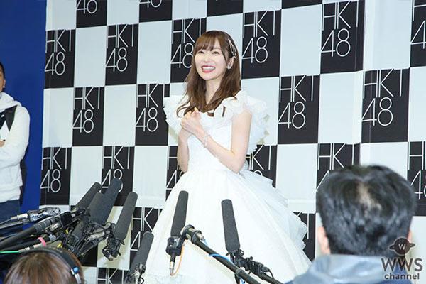指原莉乃、アイドルとは「わたしのすべてです」。最後に語った48グループへ託したい想いとは?<指原莉乃 卒業コンサート>