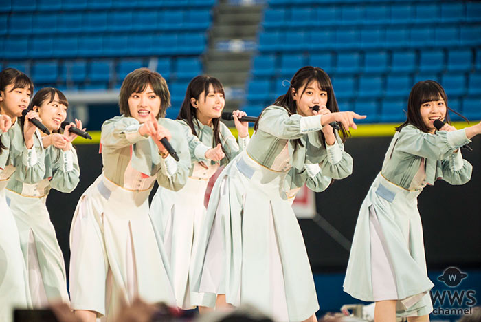STU48、春フェスで疾走感溢れる楽曲「夢力」でライブスタート!<AKB48グループ春のLIVEフェス>
