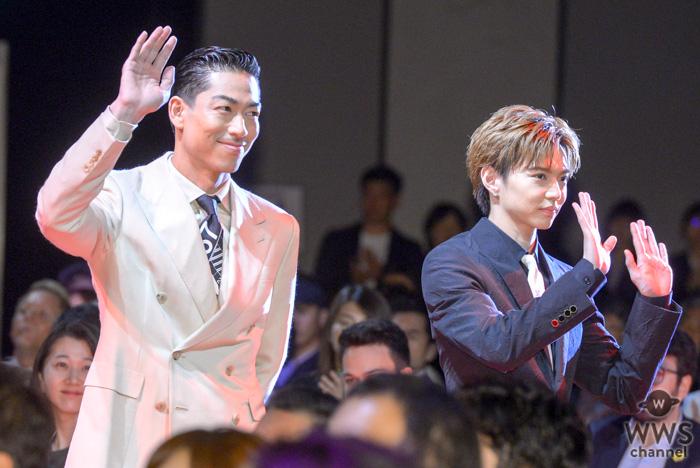 EXILE AKIRA、佐藤大樹が「ショートショート フィルムフェスティバル」オープニングセレモニーに登場!