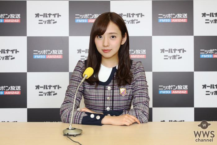 乃木坂46・桜井玲香、佐藤楓が『スペシャルウィーク』中のANNに生出演!