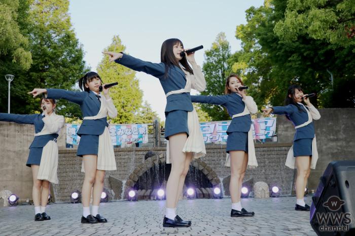 ラストアイドル、夕暮れの「ヨコハマカワイイパーク」でライブ開催!