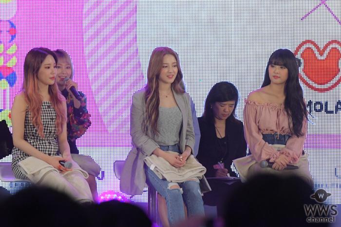 MOMOLAND(モモランド)がKCON GIRLSステージでファッションセンスを魅せる!<KCON 2019 JAPAN>