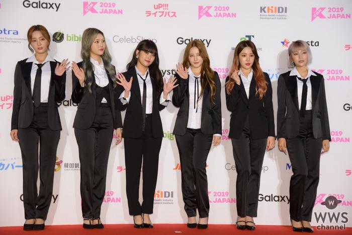 MOMOLAND(モモランド)が、「M COUNTDOWN」出演前のレッドカーペットに登場!<KCON 2019 JAPAN>