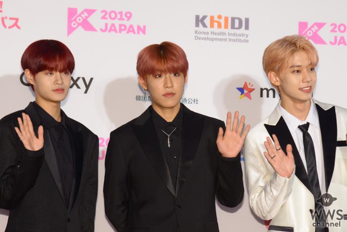 ABSIXが「M COUNTDOWN」出演前のレッドカーペットに登場!<KCON 2019 JAPAN>