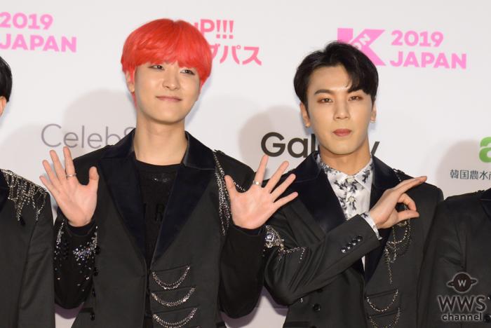G MOSTが「M COUNTDOWN」出演前のレッドカーペットに登場!<KCON 2019 JAPAN>